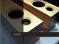 NOTE factory tour